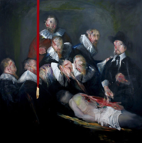 The Anatomy Lesson of the Painting