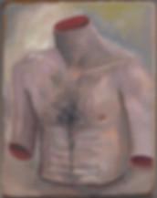 Self Portrait as a Torso, no adjustments