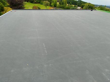 Pod zelenou střechu jedině hydroizolaci EPDM!