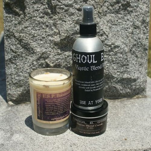 Candle Combo Pack with 8 oz Spray