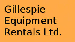 Gillespie Equipment Rentals Ltd