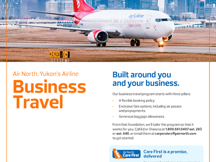 Air North Yukon's Airline - Business and Cargo Services