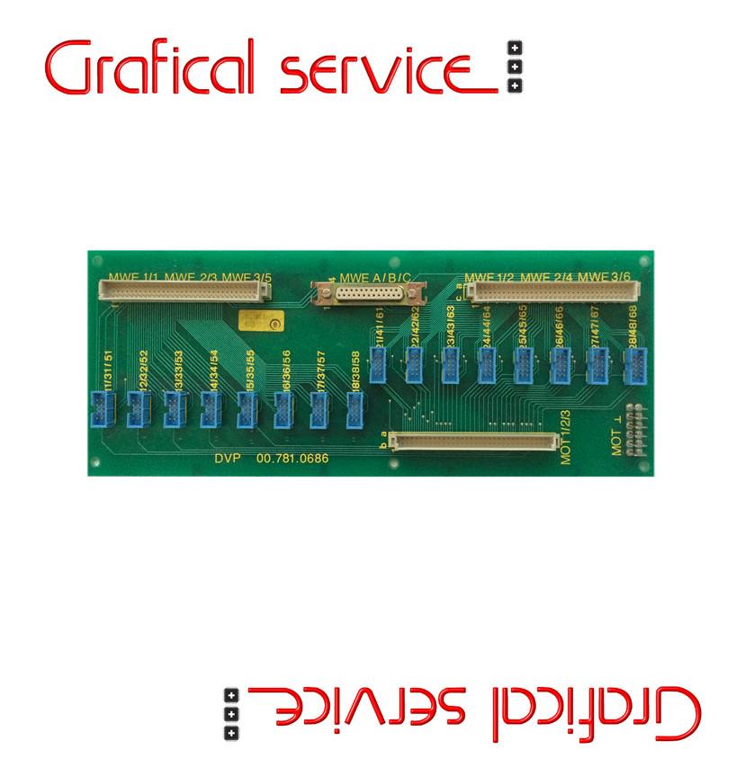Scheda elettronica HEIDELBERG DVP-00.781.0686