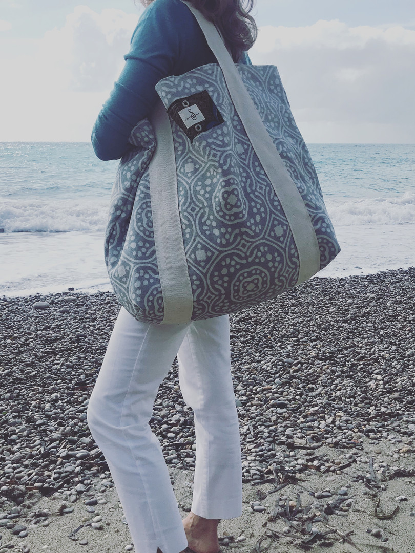 Aida on the beach