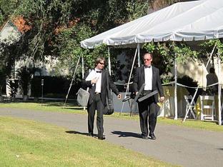 Outdoor wedding in Baton Rouge