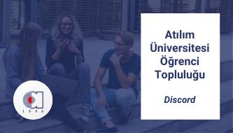 Atılım Üniversitesi Discord Topluluğu | Öğrenci, Akademik ve İdare Personeller İçin