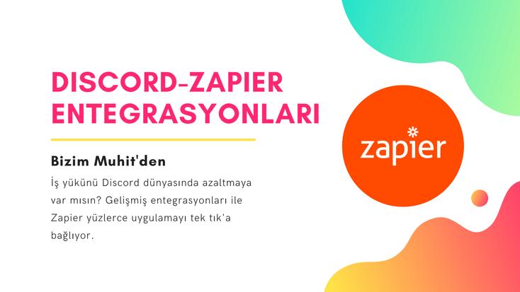 Zapier-Discord entegrasyonları ile iş yükünüzü azaltmanın ve zamandan tasarruf etmenin yollarına yakından bakıyoruz.