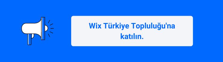 Wix Türkiye website kurma, destek, Türkçe kaynak ve paylaşım topluluğu