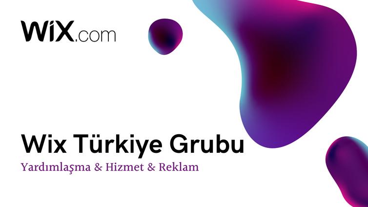Wix Türkiye Facebook Grubu