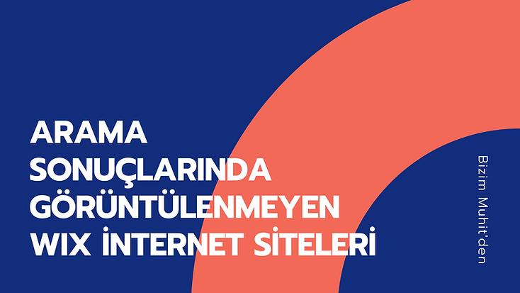 """Arama motorları tarafından dizine eklenmeyen Wix internet siteleri sorunu ve çözümünü """"Arama Sonuçlarında Görüntülenmeyen Wix İnternet Siteleri"""" rehberimizde sizlerle paylaşıyor olacağız."""