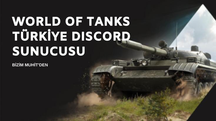 World of Tanks Türkiye Discord sunucusuna katılın, ekip arkadaşları edinin, klan savaşlarını, bonus kodlar, etkinlikler ve daha fazlasını keşfetmeye başlayın.