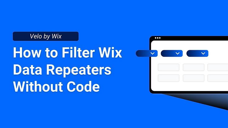 Velo by Wix is a powerful tool for creating websites with or without code. Repeaters are one the most used elements in Wix Editor and sometimes are needed to be filtered according to user inquiries.