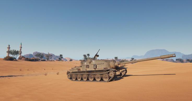 8 seviye premium Amerikan tank avcısı TS-5 bugün,kapalı testtesahneye çıktı.