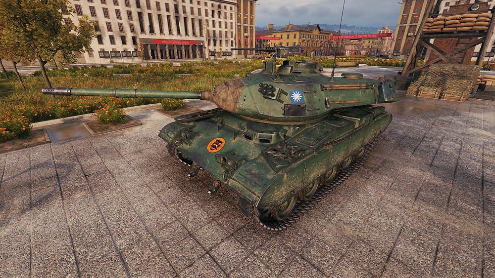 M41D Tankı oyun içi görüntüsü