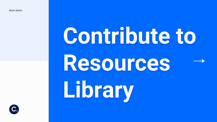 Resources Library is one of the biggest data collections on www.bizimuhit.com . Every contributer supports this area by adding excellent contents. This tutorial introduces you with this library and explains the steps before a content is created.