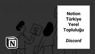 Notion Turkey Local Community (Notion Türkiye Yerel Topluluğu)