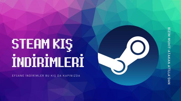 Steam 2019 kış indirimlerinin ne zaman başlayacağı duyuruldu. Steam indirimli oyunlar, fırsatlar ve kampanyalar için Bizim Muhit'i takip etmeye devam edin.