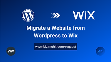 Blogging from Wordpress became worthless when Wix has been released. You now have a chance to migrate your Wordpress blog to a professional looking Wix blog website.