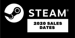 Steam Sales 2020 Dates-When Will Steam 2020 Sales Begin?