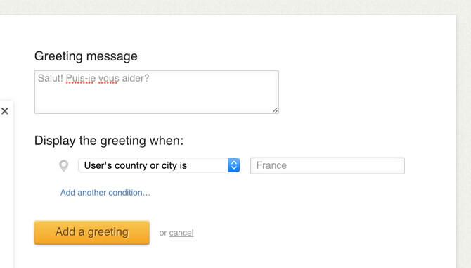 LiveChat Uluslararası Müşterileri Karşılama