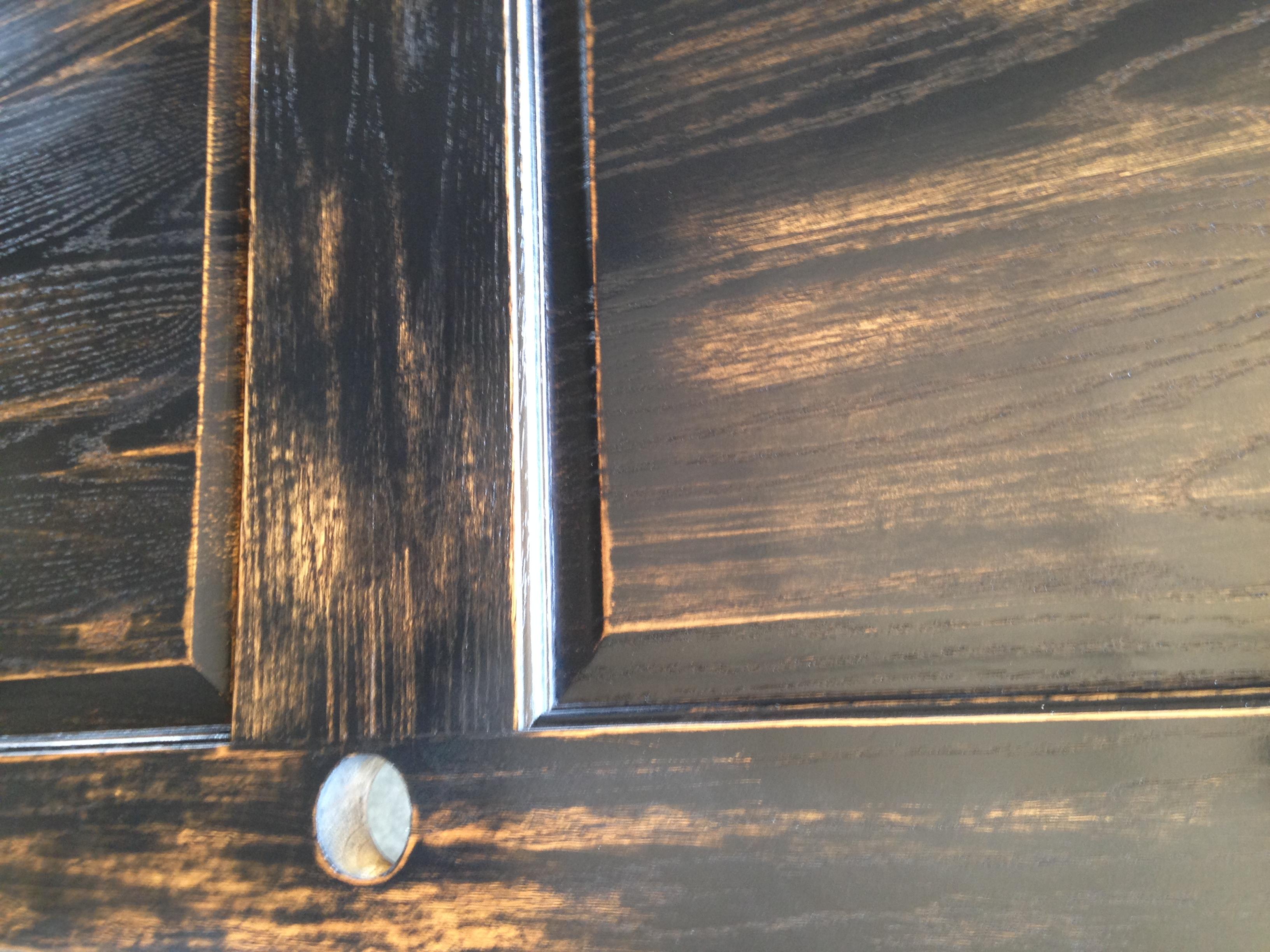 Distress Stained Door