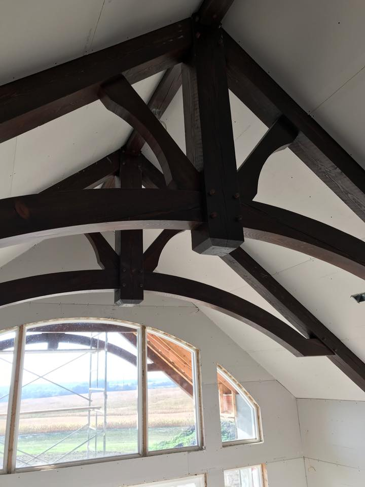 Timber Frame Truss