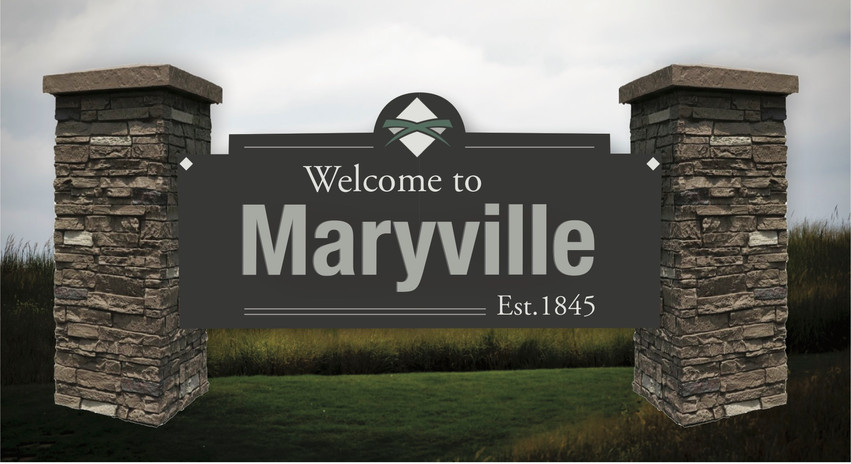 Welcome to Maryville Sign