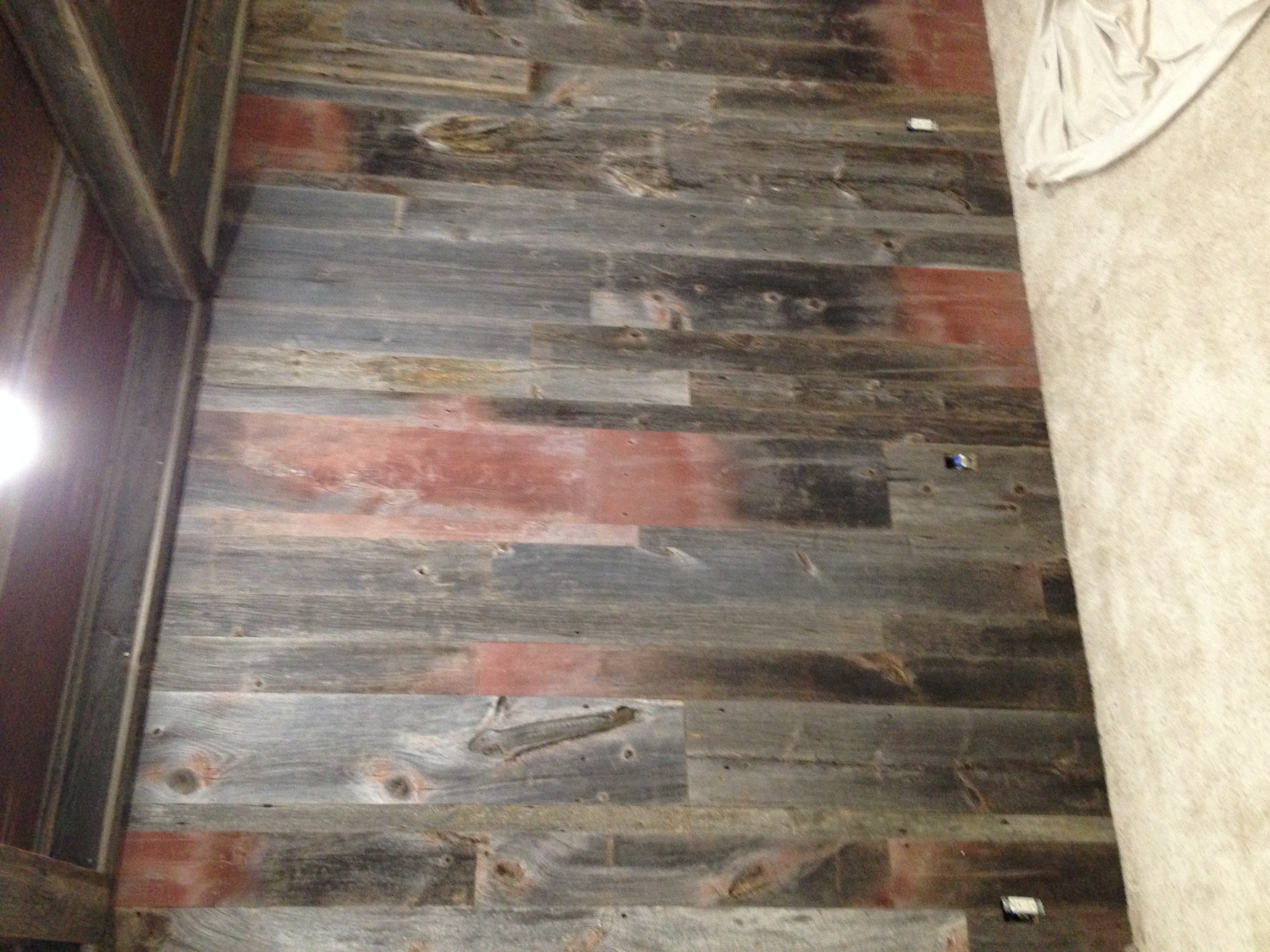 Rustic Barn Wood Wall