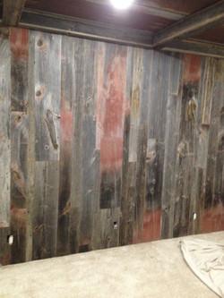 Rustic Barn Wood Wall