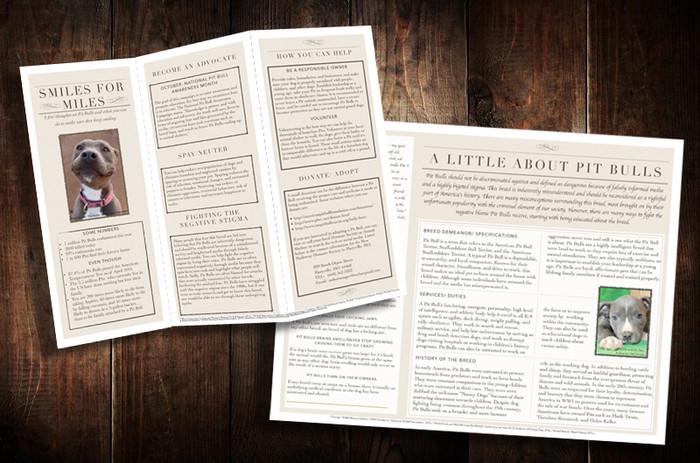 Pit Bull Advocacy Brochure