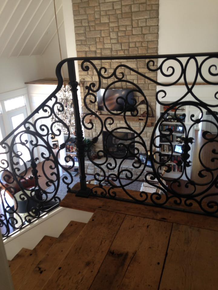 Welded Iron Staircase