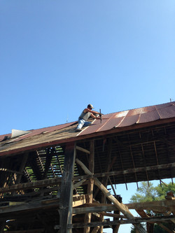 Repurposing Barn Metal