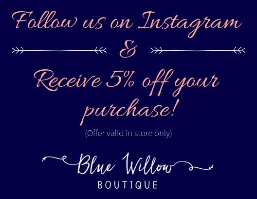 Instagram In Store Promo