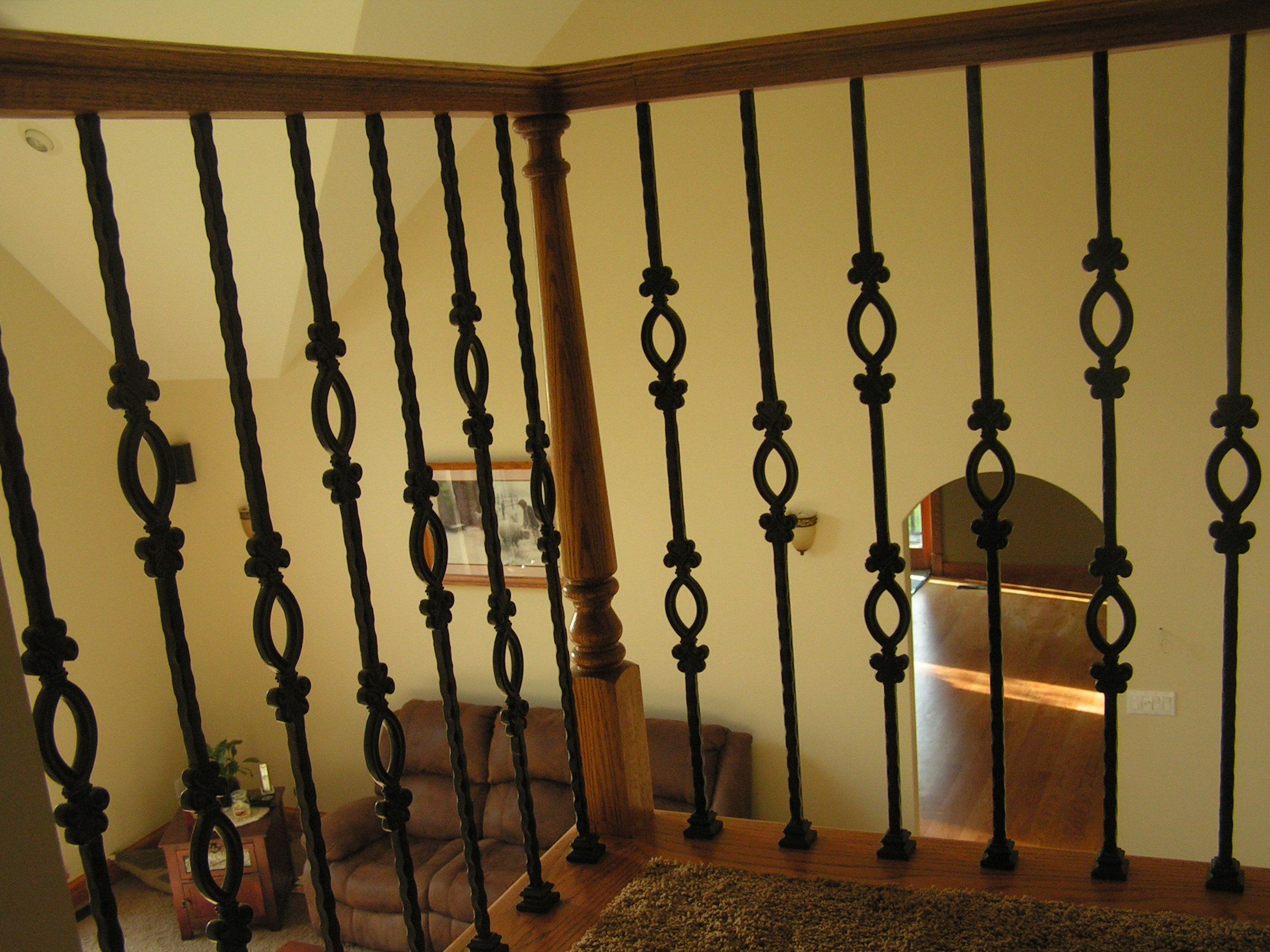 Iron Banisters