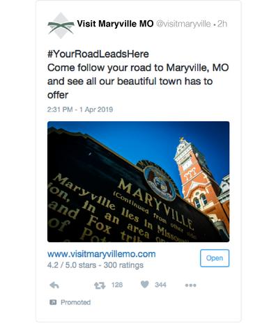 Twitter Ad Mockup