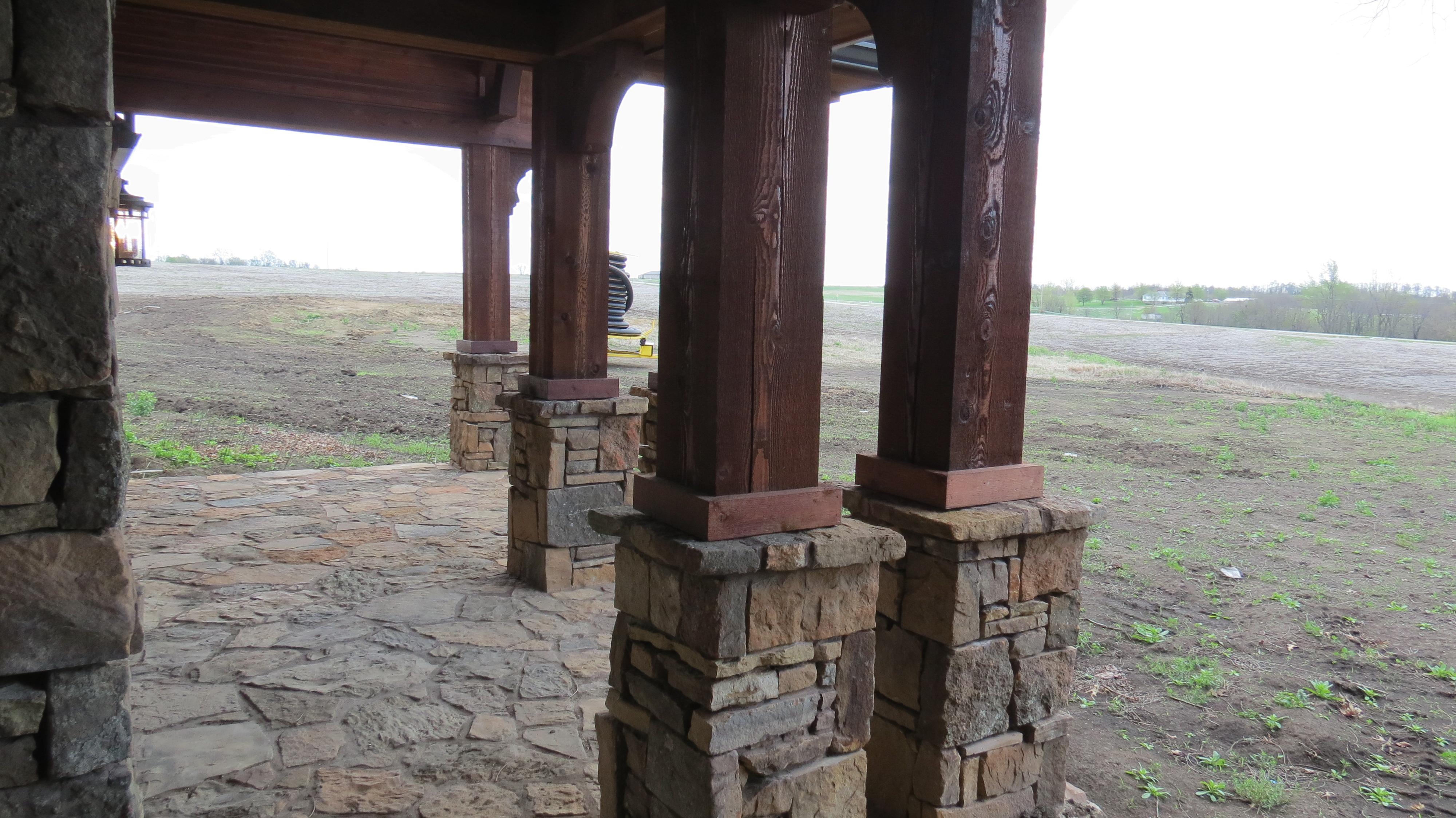 Timber Columns