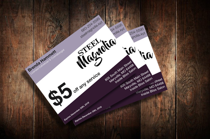 Coupons for Promotional Event