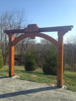 Timber Frame Arbor