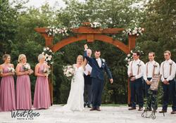 wedding arbor photo