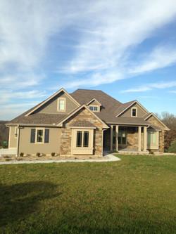 Modern & Stone Home