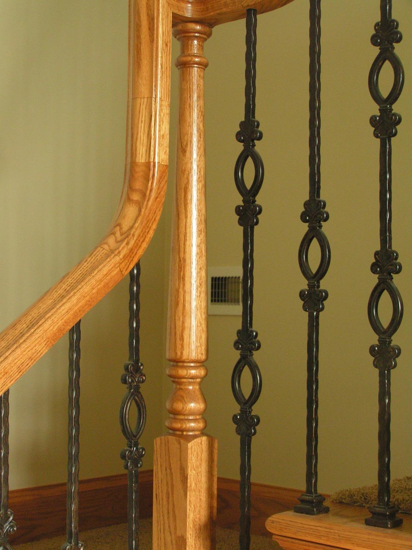 Iron Banister Staircase