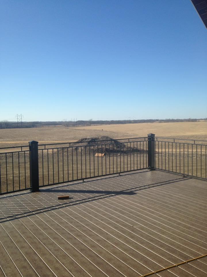 Iron Deck Railing