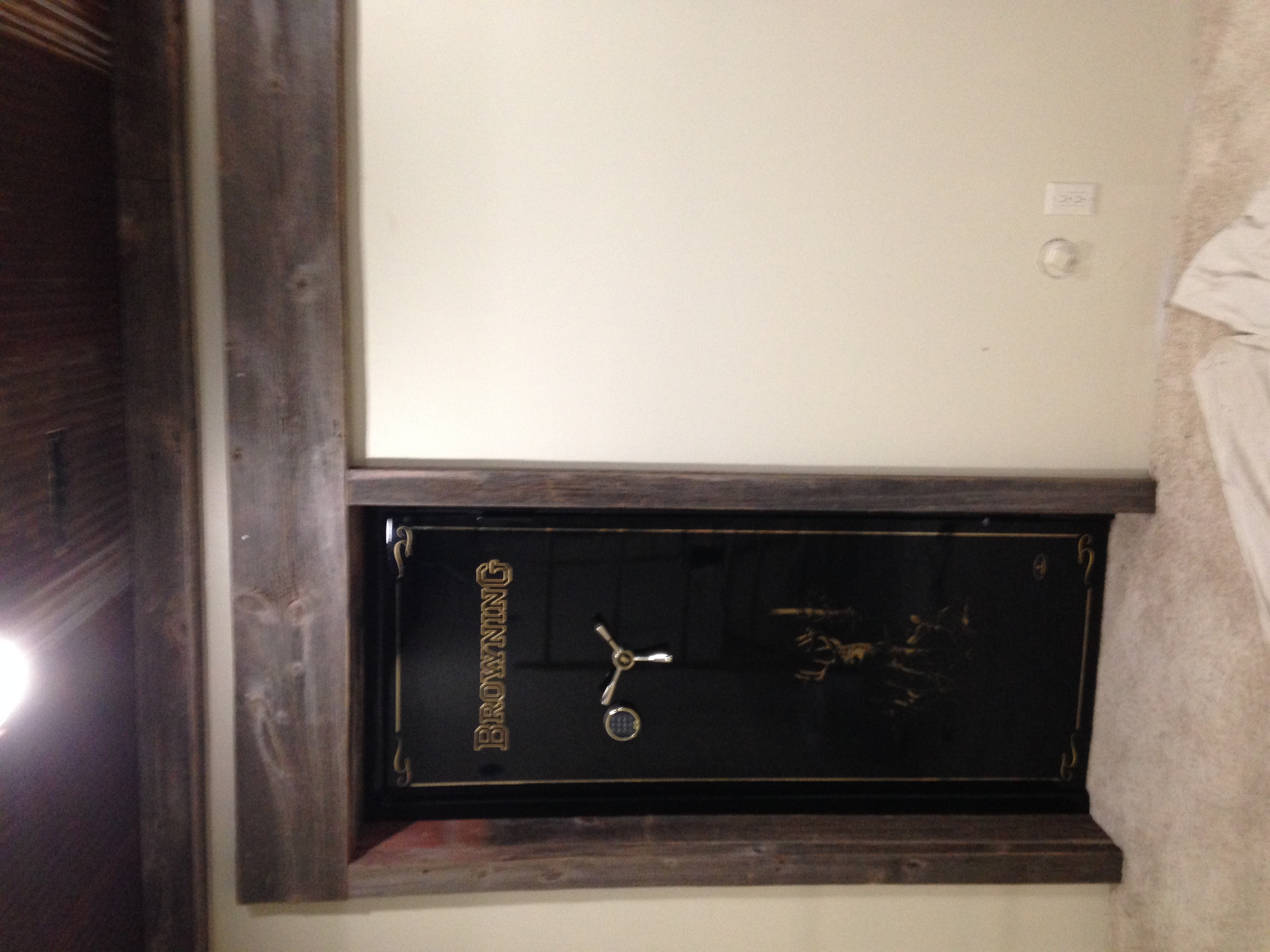 Gun Room Safe Door