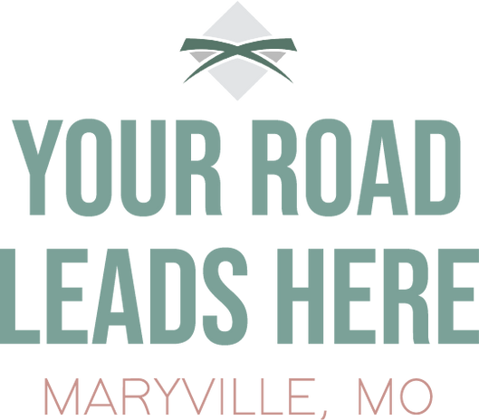 Your Road Leads Here Tagline Sticker