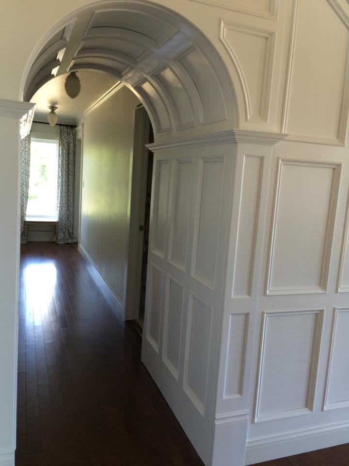 Trim Panel Hallway