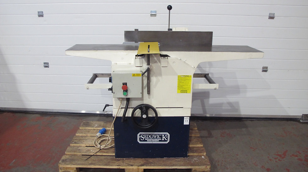 Used Sedgwick MB 12 x 9 Planer thickneser, single phase