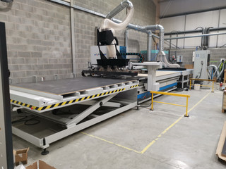 New AES Extreme Jumbo sized high speed Nesting Line delivered and commissioned in Liverpool,Merseysi
