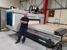 AES Raptor Ultra CNC Router delivered and commissioned in Gloucester
