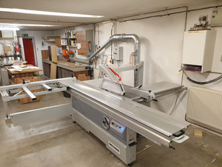 Genisis sliding table panel saws popular amongst furniture makers and industrial users alike...