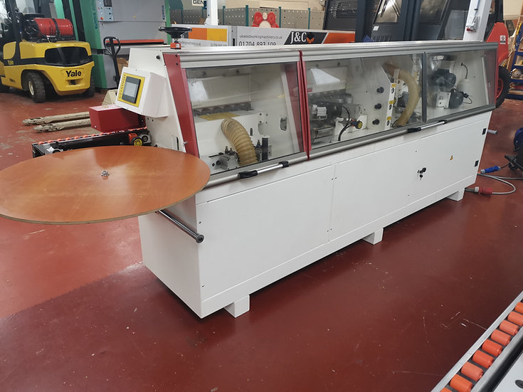 Used Genisis 512S edge bander with pre milling and corner rounding £8,750 + vat